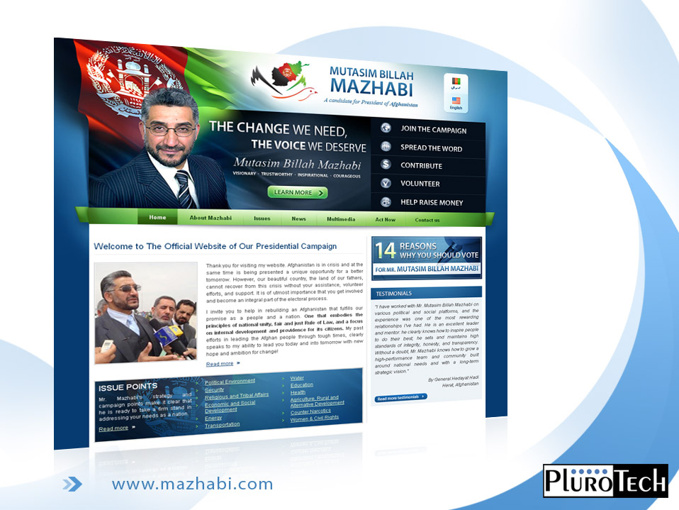 Website Design: www.mazhabi.com